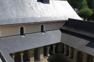 Le cloître du monastère